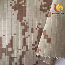 100%cotton desert camouflage military uniform fabric