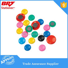 Color round magnet button for whiteboard