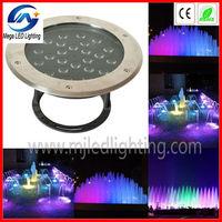 dmx512 18pcs 3w ip68 par par 56 led swimming pool lights 54w