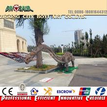 Playground equipment dinosaur silicone rubber dinosaur