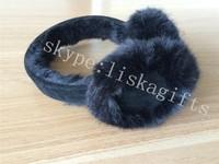 CE earmuffs warm/ anti-noise earmuffs/ high quality ear muffs plush