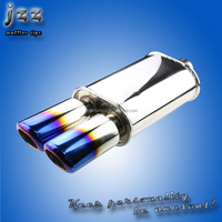 universal automobile js racing exhaust muffler in guangzhou