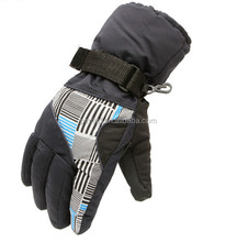 Outdoor Camping Gloves, Cool Motorcycle Ski Glove Warm Winter Driving Men's Gloves M/L