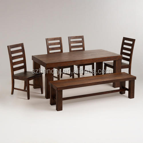 101101 moderno juego de muebles de comedor/abedul madera mesa de ...