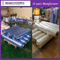PVC sleeve shrink film , plastic transparent film roll with 1500mm