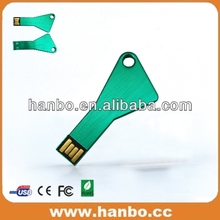 Hot!!!Cheapest price real capacity laser logo printing metal usb key