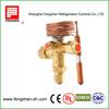 compressor temperature responsive expansion valves for R410a,R134a,R22
