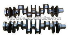 S6D125 engine spare part crankshaft,S6D125 engine crankshaft