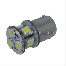 8 SMD LKW Truck 24 Power LED SMD Ba15s 1156 5050 P21W Green