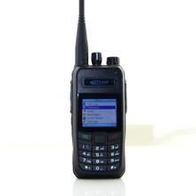 de tres colores LED indica el envío de Kirisun K700 VHF DPMR digital de 2 vías transceptor de radio walkie talkie