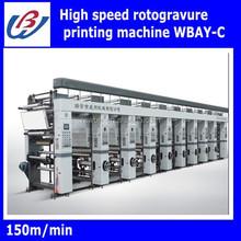 high speed computer control printing press