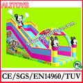mickey nuevo gardon toboganes inflables diapositivas inflables de interior juguetes inflables