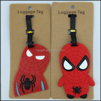 Spierman Soft PVC Luggage Tag, School Bag Tag