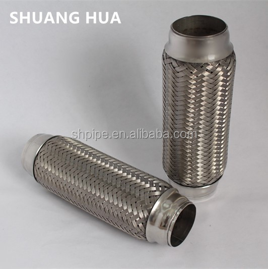 Auto stainless steel exhaust flexible pipe bellows