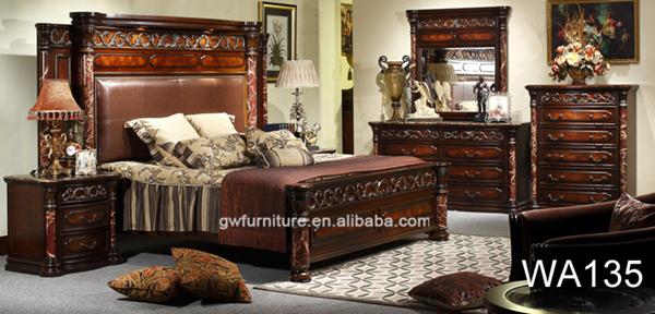 Europea di legno intagliato a mano wa142 lusso classico mobili ...