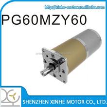 60mm 3v 6v 9v 12v planetary gear motor, motor high torque low rpm planetary