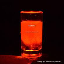 60ml RGB Bullet Flashing LED Glass