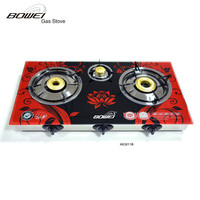 Induction Cooker Table 3 Burner Table Top Gas Cooker