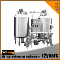 Supply high quality 300liters per day beer machine brew ale