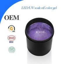 Hot sale color gel nail polish in bulk ,uv soak off novel design gel nail polish