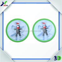 2015 flip 3D PET standard size Lenticular cards, 3d cards for promotion
