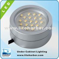4W GX53 LED Surface mounted CE UL Listed SMD led display under cabinet low voltage lighting