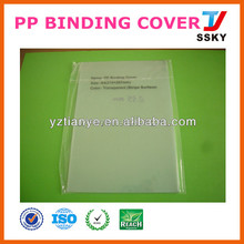 Plastic cover sheet hard plastic book cover