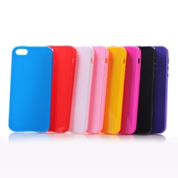 BRG Free Shipping Soft Silicon Protective Back Case Cover For iphone 5 Smartphone Protector Skin Shell For iphone 5