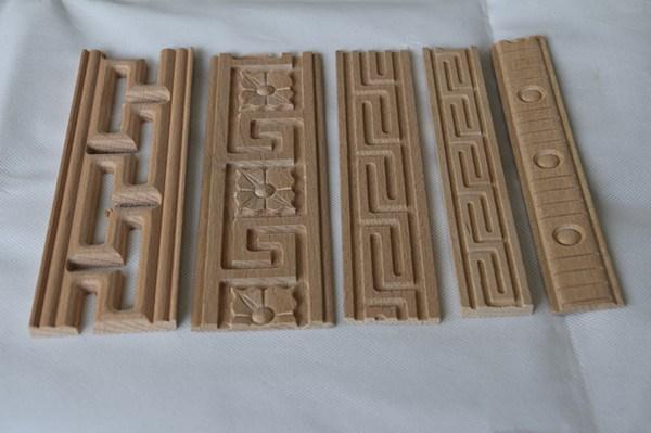 Wooden Door Frame Engineered Wood Moulding Distressed