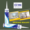 Acetoxy sealant silicone adhesive for exterior panel doors