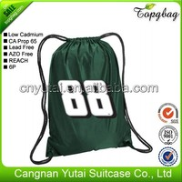 Contemporary crazy selling cheap draw string bag backpacks