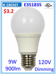 lighting led UL&CUL approved A19 led bulb energy saving light bulb led lighting bulb 9W