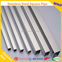 welded stainless steel square tubes