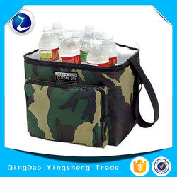 2015 Camo Polyester Cooler Bag