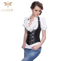 Rivets Fine Leather Good Body Shaping Ms. Babaka Palace corset