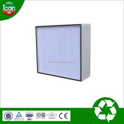 Mass production best quality high quality deep pleat h13 hepa air filters