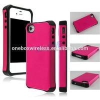 Luxury Genuine For Iphone 4/4S 2015 Tpu+Pc Phone Case