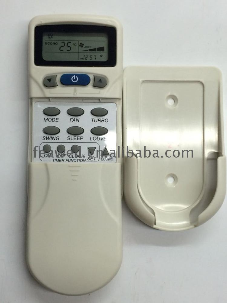 big lcd display air conditioning remote control