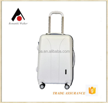Alibaba China hot sale white trolley luggage factory
