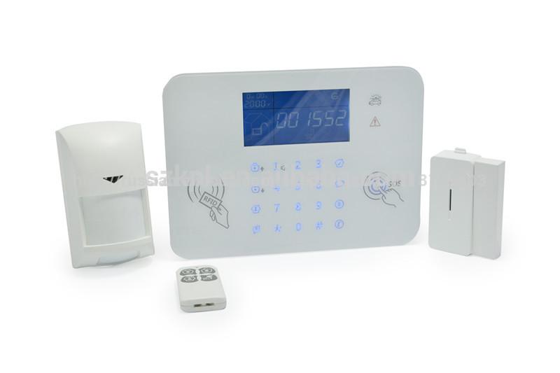 белый сенсорную клавиатуру сигнализация панели цифровой аудио зрительной системы сигнализации