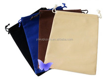 20*25cm Black Drawstring Velvet Jewelry Bag For Gifts Bracelet&bangle Necklace Watch Earing Decorations Pouch Bag