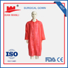 Chemical resistant lab coats with elastic cuff