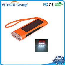 light flashlight multifunctional radio solar flashlight