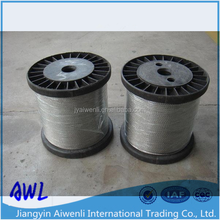 316 7x19 stainless steel wire rope steel cable for fence