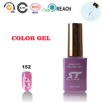 Shiny Silver Pink Nail Gel UV Germany for Raza Beauty Industries