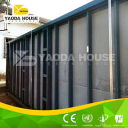 New product in China container house plans 40ft