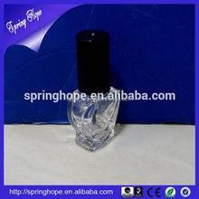 New design hot sale 15ml animal shape nail polish glass bottle with cap and brush wholesale