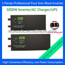 LED LCD 24V 48V to 100V 110V 220V 230V 240V Low frequency 5000W solar power system with UPS