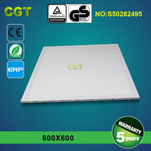 SQUARE LED RECESSED LIGHT UL,TUV, GS, CE, Rohs ETL APPROVED NO FLASH DIMMING 60x60cm 36W/48W/54W/72W 5 years warranty 4320lm