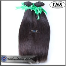 Large stock hair for promotion 1b color straight brazilian virgin hair prompt delivery good feedback